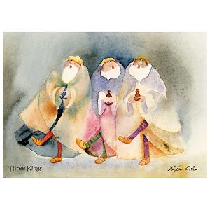 Three Kings - Pack of 6 cards