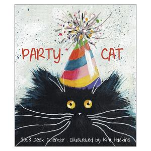 The Kim Haskins 2018 'Party Cat' Desk Calendar